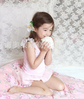 Wholesale 2013 suits for girls sweet lace shirt net yarn shorts suit