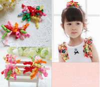 Wholesale Fashion Korker Hair Clips Mix Color Girl Baby Hair Clip Gymboree Party Hair Ornament