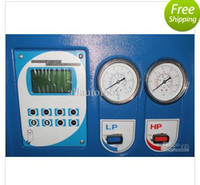 Wholesale Lusa free ship by sea REFRIGERANT AUTO A C RECOVERY amp RECHARGE MACHINE LG650 manual type