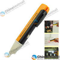 Wholesale Non contact AC D V AC Voltage Tester Meters Pen Handheld Electrical Voltage Detector