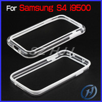 Wholesale Hybrid TPU Frame Bumper for Samsung Galaxy S4 i9500 Dual Colors Boardline Cover