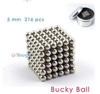 Wholesale 216 D mm Hot Selling Magic BuckyBalls Novelty Toys Magnetic Toys Smart Puzzles