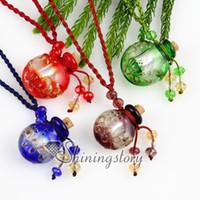 essential oil necklace - essential oil diffuser necklaces pendant empty small vial necklace aromatherapy pendant vintage perfume bottle pendant necklaces