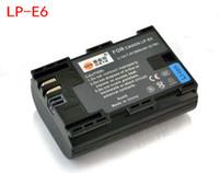 Wholesale DSTE mAh Battery LP E6 LPE6 for Canon D MarkIII EOS D Camera
