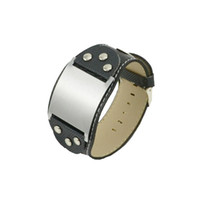 Wholesale Costume Jewelry Stainless Steel bracelets fashion leather men bracelets Factory Prices gift