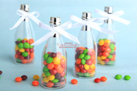 Wholesale Wedding Favors champagne bottle candy box gift box