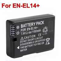 Wholesale Decoded Battery Pack EN EL14 ENEL14 for Nikon D5100 D3100 D3200 P7100 P7000