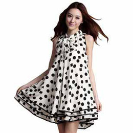 Wholesale New Korean Women Summer Fashion Maternity Dress Pregnant Wave point Skirt ladies Loving dress t5005