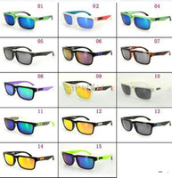 Wholesale 20pcs New Spy Helm Block Sunglasses Relecitve lens outdoor Racing Sun Glasses and case