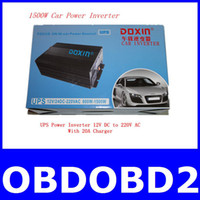 Wholesale 2013 Newest A Quality W Car Power Inverter DC To AC V to V A Charger Free Shippin