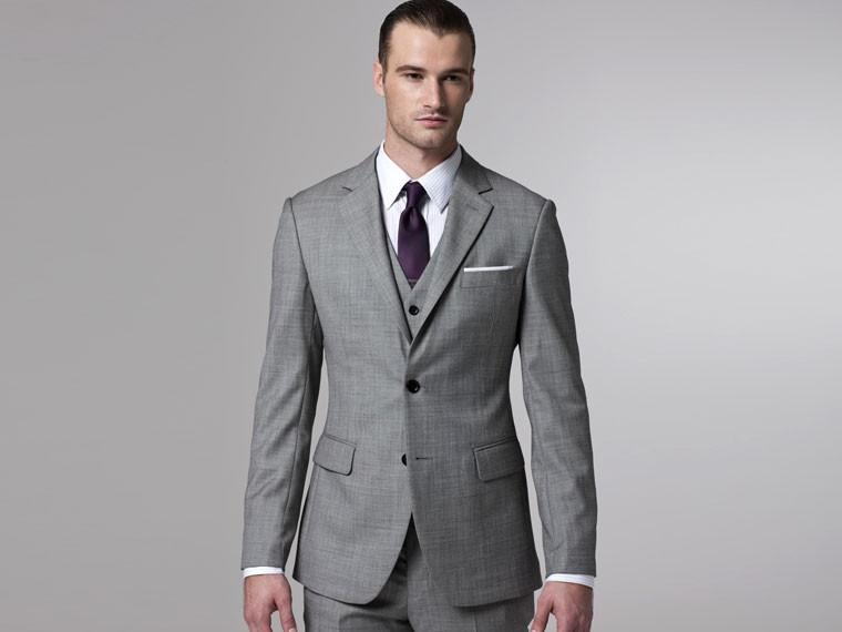 Beautiful Light Gray Suit Wedding Images - Styles & Ideas 2018 ...