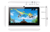 Wholesale 1Pcs Q8 Android OS ICS Tablet PC Allwinner A13 GB USB Capacitive WIFI G