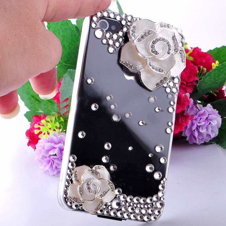 3D Luxurious Flowers Color Option Rhinestone Art Craft ...
