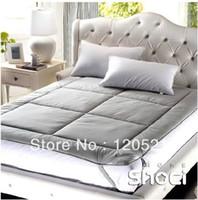 bamboo mattress - Bamboo charcoal tatami mattress thickening mattress piates beddable double pad Breathing mattress