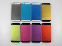 battery post covers - Metal Back Cover Housing Colored Battery Door for iphone G hongkong post