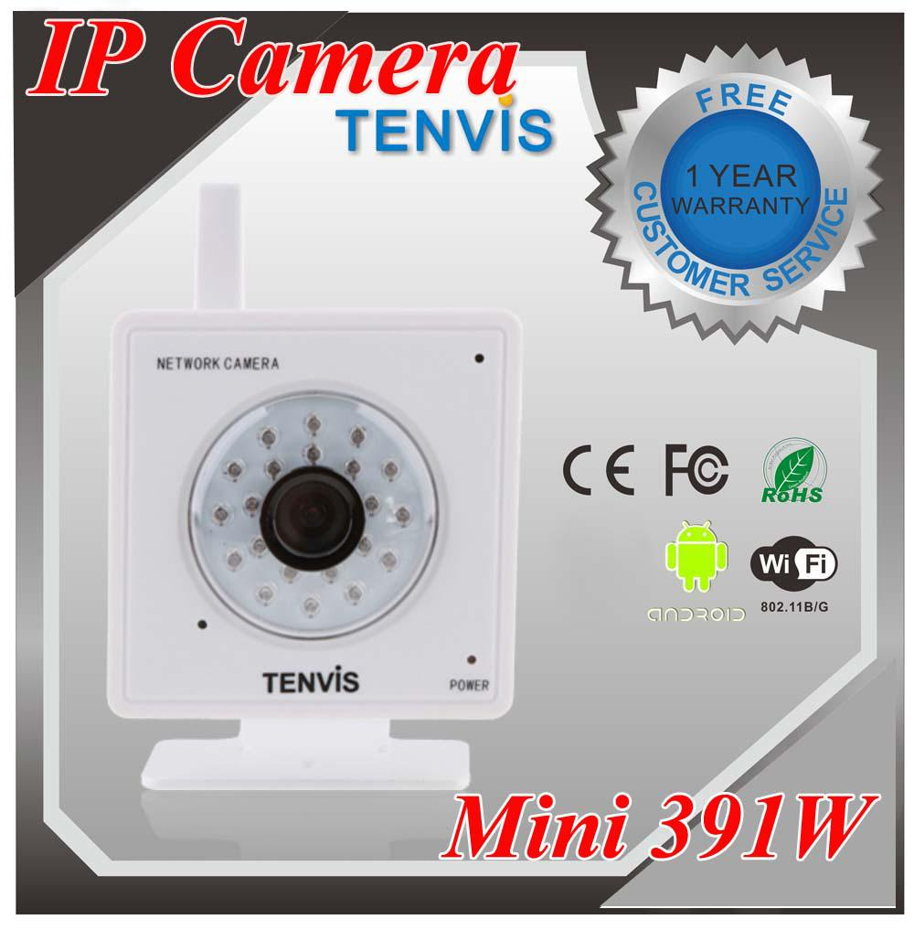 tenvis mini ip391w security equipment wireless ip camera night vision indoor cctv webcam cheap. Black Bedroom Furniture Sets. Home Design Ideas