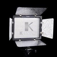video light   New YN-300 LED 300 Leds Illumination Dimming 5500K Video Light For SLR Camera