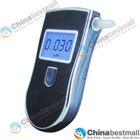 Wholesale Professional Digital LCD Breath Alcohol Tester Portable Alcohol Tester for Police