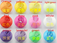 Wholesale funlife quot quot quot Chinese round Paper lantern Lamp Covers For Wedding Decoration Party