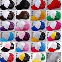 Wholesale Unisex Summer Hats Fashion Trucker Hat Cap Mesh Cap Baseball Hats Sun Hat Ball Cap Many Colours