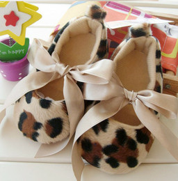 Hot ten thousand pairs of leopard female baby princess toddler shoes European style baby shoes