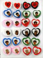 Wholesale NEW Pairs Unique One Direction Wood Stud Earrings Color Mix Fashion Earrings Jewelry