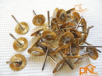 Wholesale 18PC Brass Wire Wheel Brushes Dremel Accessories For Rotary Tools