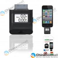 Wholesale Mini LCD Digital Breath Alcohol Tester Monitor Breathalyzer designed for iPhone s iPod amp iPad