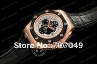 Wholesale Rose Gold Ruben Baracello Limited ED Sapphire Glass Mens Asia Automatic Chronograph Watch Runni