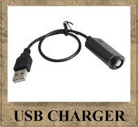 Chargeur USB pour l'ego, l'ego-t, la batterie de l'ego-W, entrée de la cigarette électronique DC 5V USB 2.0 pour tous les ego