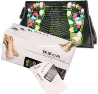 Wholesale Reflexology Walk Stone Foot Massage Pad Leg Massager Mat Health Care Easy to Use