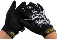 Wholesale Cool Airsoft Shooting Paintball BMX Racing Riding Cycling Mechanic Worker Gloves