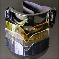 Wholesale Kite Surfing Jet Skiing Paintball Cycling Airsoft Tactical Goggle Glasses Lens
