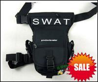 Wholesale Fashion Cool Drop Leg Utility Waist Pouch Carrier Bag Coyote Black