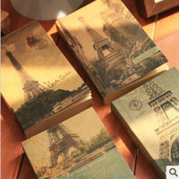 Wholesale Creative stationery tower control H5 Journal of kraft paper diary Retro pages