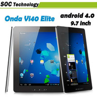 Android 4.0 onda vi40 - Original Onda VI40 Elite GB Tablet PC quot IPS Screen Android A10 GHz GB GB DHL Free
