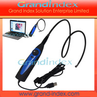 Wholesale USB Video Inspection LED Borescope Endoscope mm Waterproof Camera Snake Scope GISK001EN