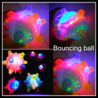 Wholesale Novelty colorful flash music dancing ball electric bouncing ball singing Ball hot gifts for selling