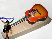 Wholesale NEW Custom th Anniversary Humming Acoustic guitar Lemon Burst