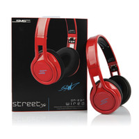 Wired audio samples - 2013 NEW SMS Audio Wired Street by Cent On Ear Headphones DJ Headsets sample drop ship