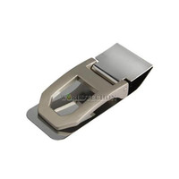 Wholesale Practical Slim Money Cash Clamp Wallet Clip Credit Card Stainless Steel Holder