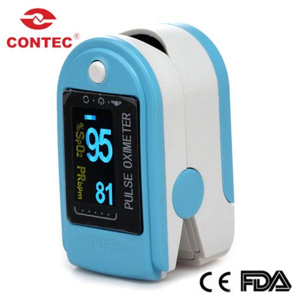 Fda ce contec cm 50d fingertip blood oxygen monitor fingertip pul e oximeter