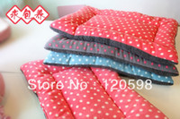 Wholesale Cute Soft Warm Pet Kennels Puppy Dog Cat Fleece Dotted Dot Blanket Cushion Sofa Mat Pad
