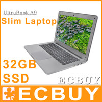 Wholesale 13 Laptop Tablet Win7 OS Intel Celeron Dual Core GHz G DDR3 G SSD PC Computers NoteBook