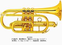 Wholesale Brass Wind Music Instrument CR Cornet Bb Key Spray Vanish Brass Bell