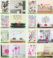 Wholesale 2013 wall art mural cm removable Wall Sticker paper Home Decor Room children Kids bedroom