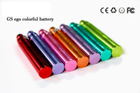 Wholesale 2013 NEWest ego colorful battery gs ego color battery mah Electronic Cigarette e cig e cigarette