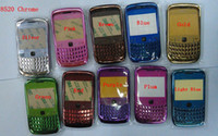 Wholesale 100pcs Full faceplates housing cover case keypad brand new for blackberry