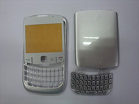 Wholesale 20pcs Full faceplates housing cover case keypad brand new for blackberry