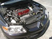 Wholesale Carbon Fiber Cooling Plate Panel for Mitsubishi Lancer Evolution